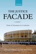 Cover for The Justice Facade - 9780198820956