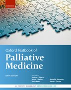 Cover for Oxford Textbook of Palliative Medicine