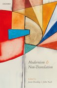 Cover for Modernism and Non-Translation
