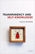 Cover for Transparency and Self-Knowledge