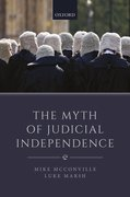 Cover for The Myth of Judicial Independence