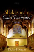Cover for Shakespeare, Court Dramatist