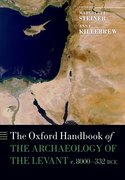 Cover for The Oxford Handbook of the Archaeology of the Levant