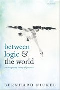 Cover for Between Logic and the World