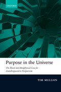 Cover for Purpose in the Universe