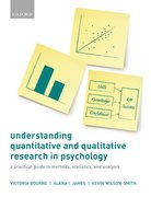 Cover for Understanding Quantitative and Qualitative Research in Psychology