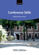 Cover for Conference Skills