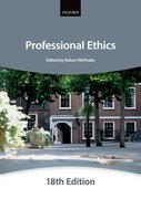 Cover for Professional Ethics