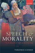Cover for Speech and Morality