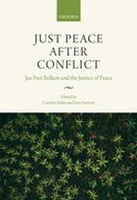 Cover for Just Peace After Conflict