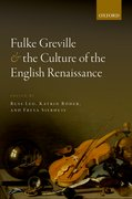 Cover for Fulke Greville and the Culture of the English Renaissance
