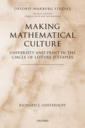 Cover for Making Mathematical Culture
