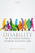 Cover for Disability in International Human Rights Law