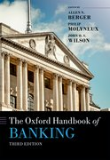 Cover for The Oxford Handbook of Banking