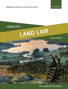 Cover for Complete Land Law
