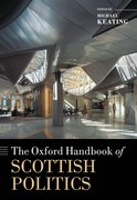 Cover for The Oxford Handbook of Scottish Politics