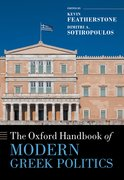 Cover for The Oxford Handbook of Modern Greek Politics