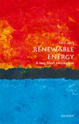 Cover for Renewable Energy: A Very Short Introduction