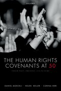 Cover for The Human Rights Covenants at 50 - 9780198825890