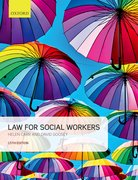 Cover for Law for Social Workers