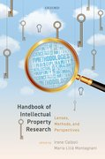 Cover for Handbook of IP Research