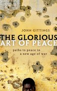 Cover for The Glorious Art of Peace - 9780198826897