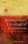 Cover for Bonhoeffer