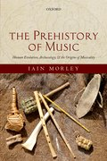 Cover for The Prehistory of Music - 9780198827269