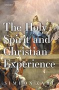 Cover for The Holy Spirit and Christian Experience