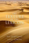 Cover for The Texture of the Lexicon