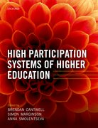 Cover for High Participation Systems of Higher Education
