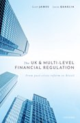 Cover for The UK and Multi-level Financial Regulation