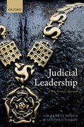 Cover for Judicial Leadership
