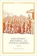Cover for Philosophy, Rhetoric, and Thomas Hobbes