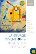 Cover for Language Invention in Linguistics Pedagogy