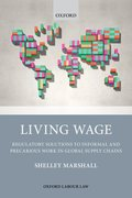 Cover for Living Wage