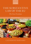 Cover for The Substantive Law of the EU