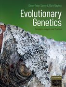 Cover for Evolutionary Genetics