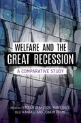 Cover for Welfare and the Great Recession