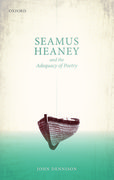 Cover for Seamus Heaney and the Adequacy of Poetry