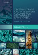 Cover for Crafting Trade and Investment Accords for Sustainable Development