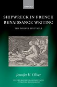 Cover for Shipwreck in French Renaissance Writing