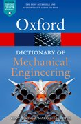 Cover for A Dictionary of Mechanical Engineering
