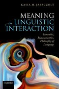 Cover for Meaning in Linguistic Interaction - 9780198832133