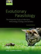 Cover for Evolutionary Parasitology