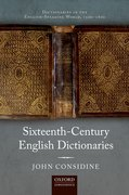 Cover for Dictionaries in the English-Speaking World, 1500-1800