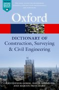 Cover for A Dictionary of Construction, Surveying, and Civil Engineering