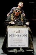 Cover for Invalid Modernism