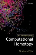 Cover for An Invitation to Computational Homotopy