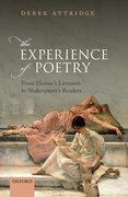 Cover for The Experience of Poetry
